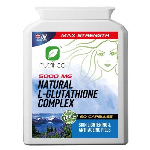 Natural L-glutathione Complex 5000mg High Strength Pills