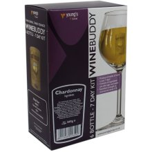 WineBuddy Chardonnay 6 Bottle - Home brew Wine Making Kit