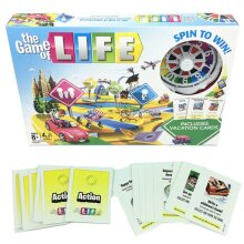The Game Of Life Board Game Kids Family Interactive Fun Party Toy Newest Edition