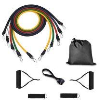 11pc Resistance Bands Set - 100lb