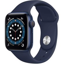 Apple Watch Series 6 GPS, 40mm Blue Aluminium Case