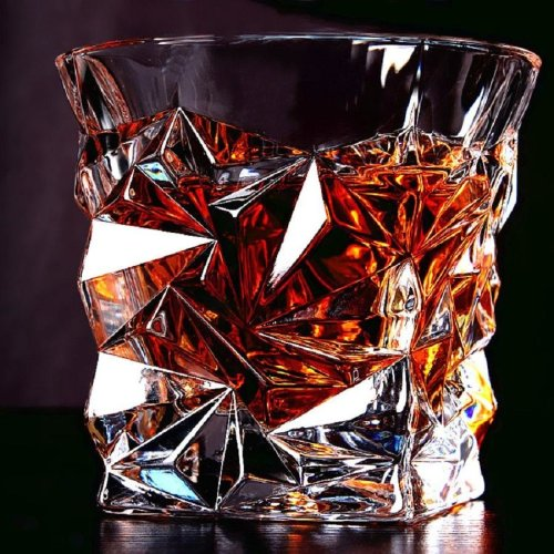 (1 pack) Old Fashioned Glasses Crystal Whiskey Tumbler