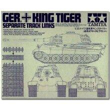 TAMIYA 35165 King Tiger Track Links 1:35 Military Model Kit