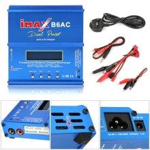 IMAX B6 AC Lipo NiMH Polymer RC LCD Battery Balance Charger UK/EU Plug