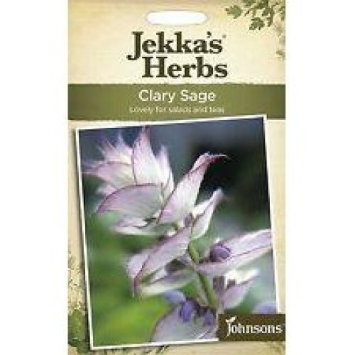 Johnsons - Jekka's Herbs - Pictorial Pack - Clary Sage - 150 Seeds