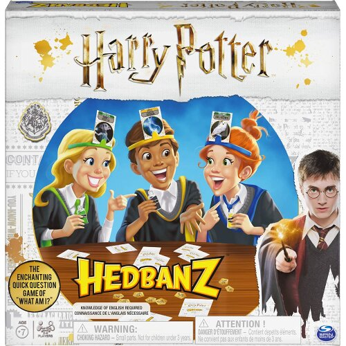 Spin Master Games 6053517 HedBanz Harry Potter Party Game for Kids, Multicolour