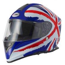 Vcan V127 Union Jack Dual Visor Full Face Helmet