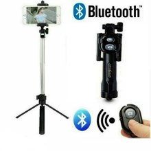 Flexible Selfie Stick Remote Bluetooth Tripod Camera Shutter For Mobile Phone