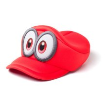 NINTENDO Super Mario Bros. Odyssey Cappy Kids Curved Hat, Unisex, Red (HAY100507NTN)