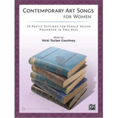 Alfred 00-41751 CONTEMPORARY ART SONGS WOMEN-BK&CD