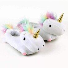 Large Unicorn Slippers