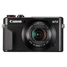 Canon PowerShot G7X Mark II Black Digital Camera