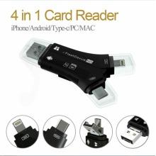 4in1 i-Flash USB Drive Micro TF Memory Card Reader