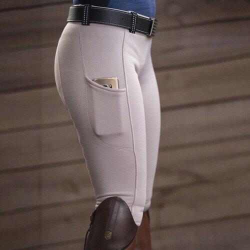 Women,s Riding Elastic Compression High-Waist Sports-Leggings Belt Training Fitness-Pants