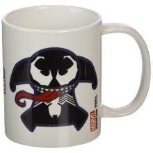 "Pyramid International""Marvel Kawaii (Venom)"" Official Boxed Ceramic Coffee/Tea Mug, Multi-Colour, 11 oz/315 ml"