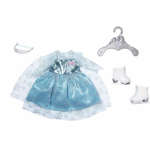 Baby Born 827550 Princess On Ice Set 43cm Doll Clothes Outfit