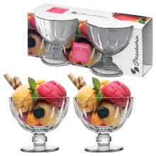 280ml Glass Dessert Bowls | Sets of 2, 4 or 6