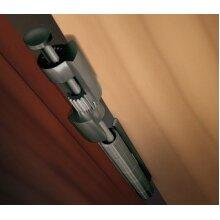 Door Saver III Hinge Pin Door Stop in Antique Nickel Finish