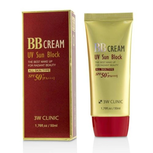 Uv Sun Block Bb Cream Spf50+ Pa+++ - 50ml/1.76oz