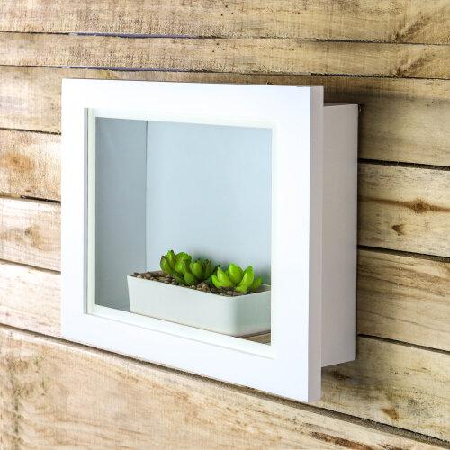"M&W 3D Box Frame White 10"" x 8"""