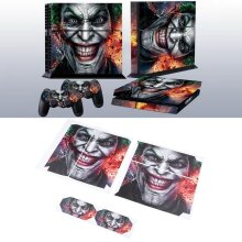 Joker Vinly Skin Sticker for Sony PS4 PlayStation 4 and 2 Controller Skins