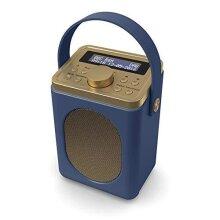 Majority Little Shelford - DAB/DAB+ Digital & FM Radio - Portable Wireless - Bluetooth - Stereo Sound - Dual Alarm Clock - Leather Effect Finish - M