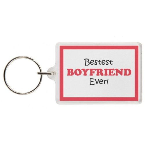 I AM BLESSED YOU/'RE MY BOYFRIEND ALWAYS THERE FOR ME Novelty Keyring Gift