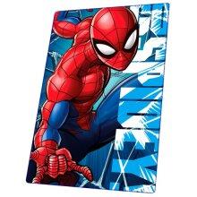fleece blanket Spider-Man boys PE 150 x 100 cm red/blue
