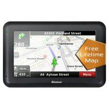 Binatone U435 4.3 Inch Sat Nav Lifetime Maps Uk & ROI