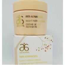ARBONNE RE9 Advanced ANTI AGEING - Night Repair Cream - Vegan 10x 3ml (30ml) new