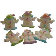Handmade Edible Clowns Birthday, Baby Shower Decorations