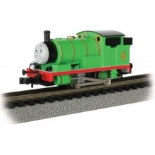 Bachmann BAC58792 N Percy The Small Engine with Standard DC Thomas & Friends, Green