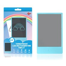 Doodle 8.5'' LCD Writing Tablet - Single Colour - Blue & Pink Frame