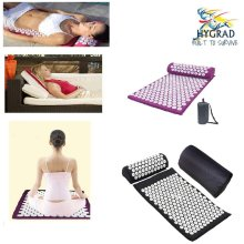 Acupuncture Massage Set For Home Office Park Gym Acupuncture Pin Mat and Pillow