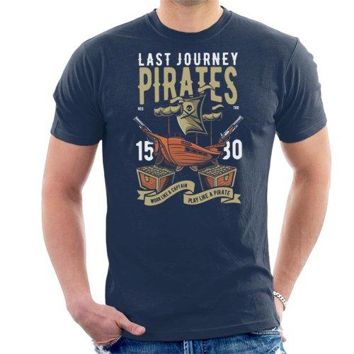 Last Journey Pirates Ship Men's T-Shirt