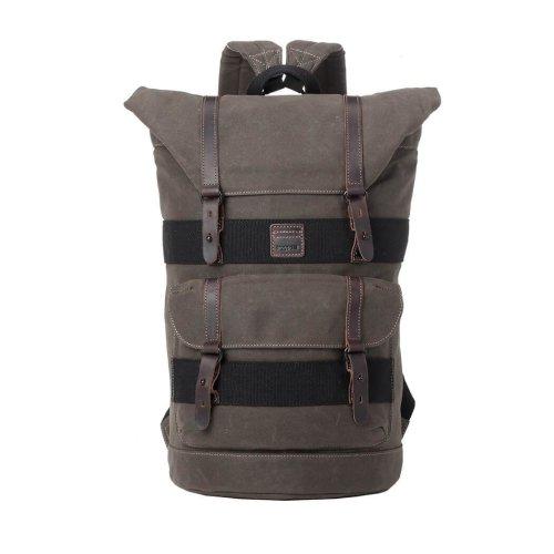 TRP0474 Troop London Classic Canvas Messenger Bag | Buy Bags Online | Canvas Messenger Bags | leather canvas backpack