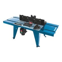 Silverline Diy Router Table With Protractor 850 x 335mm - 460793 Uk -  table diy router protractor silverline 460793 850 x 335mm uk