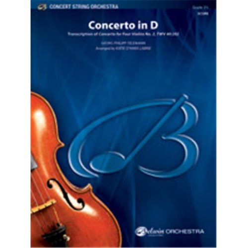 Alfred 00-41228S S CONCERTO IN D-BCS
