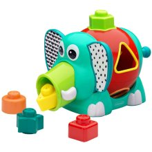 B Kids Spin & Pop Shape Sorter Elephant