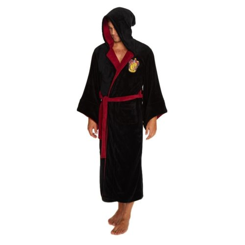Harry Potter Gryffindor Wizard Fleece Dressing Gown