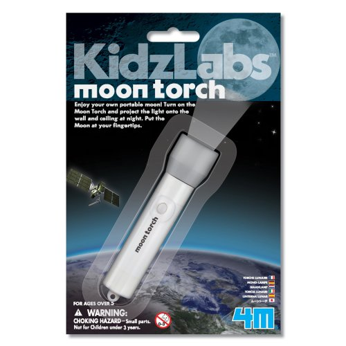 Moon Torch - Kidz Labs Children's Creative Set