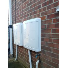 Gas & Electric Meter Box Cover   Sturdy Meter Box Cover