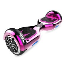 Right Choice Pink Hoverboard With Built-in Bluetooth Speakers