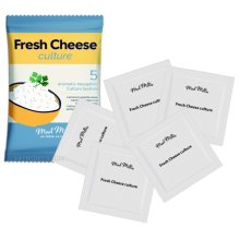 Mad Millie Fresh Cheese Culture Mesophilic 5x sachets Treats up to 20L of Milk