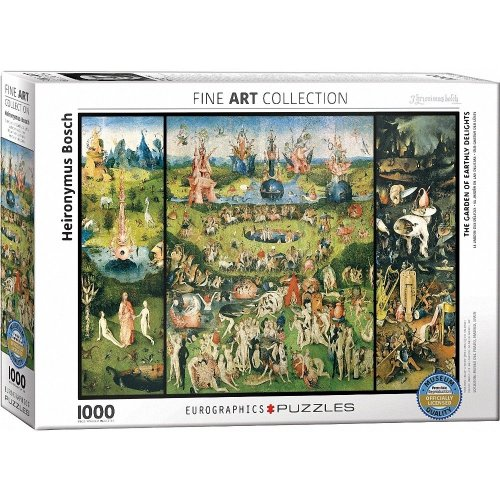 Eg60000830 - Eurographics Puzzle 1000 Pc - the Garden of Earthly Delights