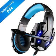 Gaming Headset with Mic for PS4 PC Latest version Xbox One, EasySMX 2019 3.5 mm Professional Game Headsets for Laptop Tablet Mac Smartphone,...