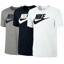 Nike Mens T Shirt Futura Icon Cotton Sports Tee