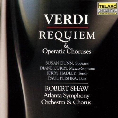 Uiseppe Verdi - Verdi: Requiem and Operatic Choruses [CD]