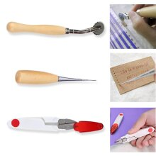 Multifunctional 14pcs/set Handmade Leather Craft Hand Stitching Sewing Tool