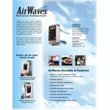 Ozone Generator Virus Protection system fits to Air Conditioner HVAC